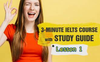 3 minute IELTS Study Guide - Lesson 1: Useful Words for Writing an IELTS Graph Essay