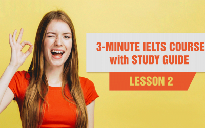 3 minute IELTS Study Guide - Lesson 2: The IELTS Process. Prepare you for the intricacies of the standardized IELTS test.